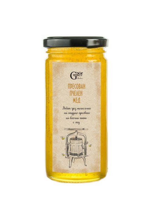 Пресован пчелен мед