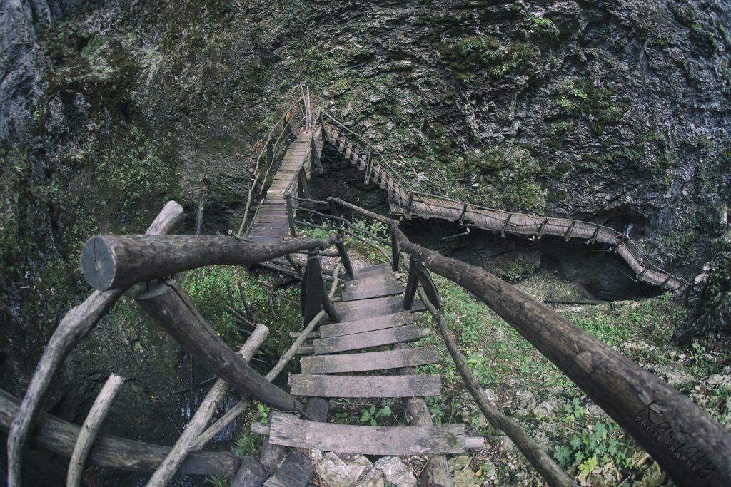 мостове на слизане