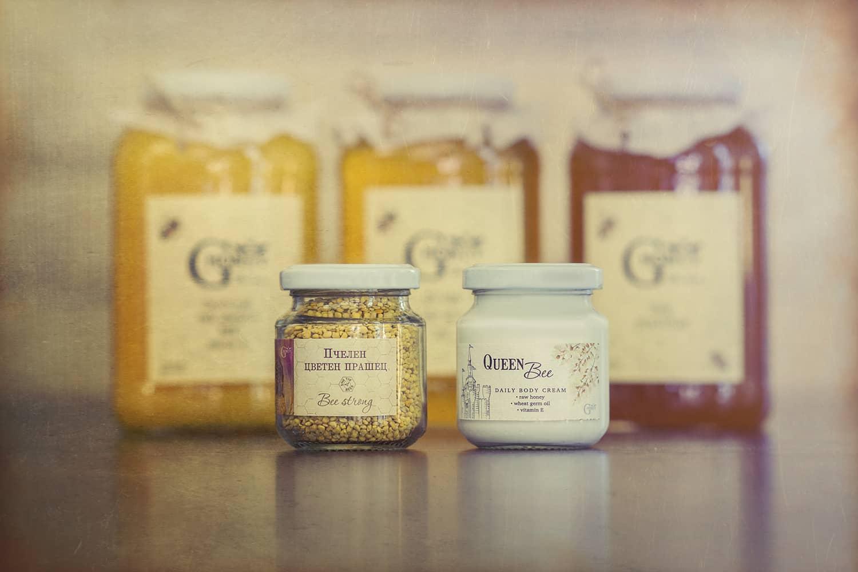 Пчелен прашец и мед GHoney