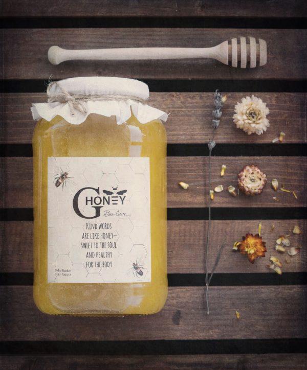 Полифлорен пчелен мед със слънчоглед